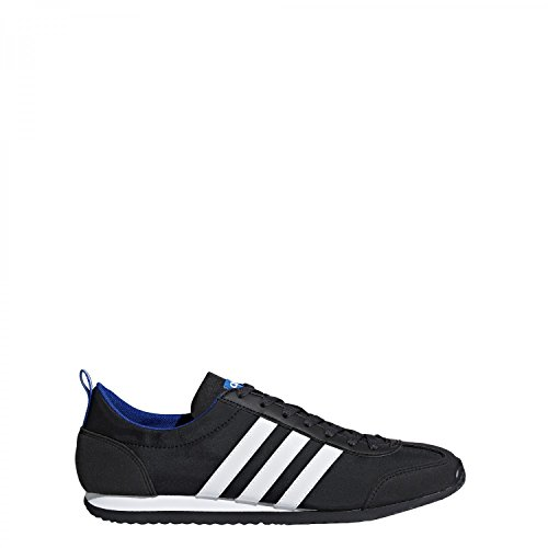 adidas Vs Jog, Scarpe da Ginnastica Basse Uomo Nero (Core Black/footwear White/collegiate Royal)