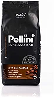 Pellini Caffè in Grani N. 9, Livello di Tostatura Medio - 1kg