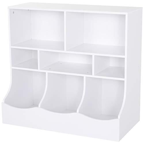 estanter/ía de almacenamiento para habitaci/ón de los ni/ños con cinco cajas de pl/ástico para ni/ños estanter/ía de juegos para ni/ños y ni/ñas Estanter/ía de juguete Miffy de Roba