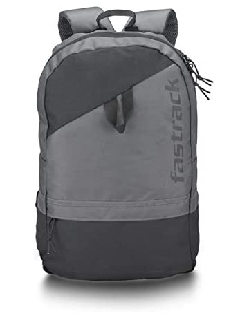 Fastrack 21 Ltrs Grey School Backpack (A0723NGY01)