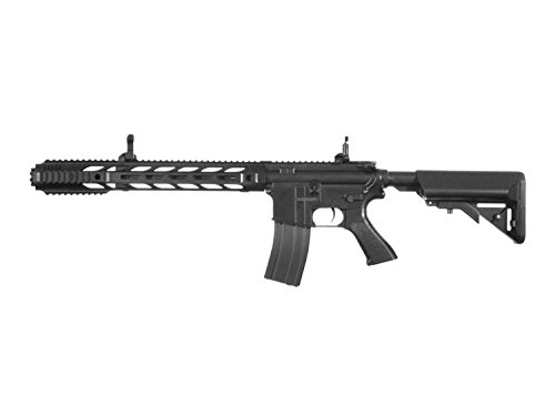 "BEGADI Eco Mark 3"" M4 Vollauto Softair/Airsoft AEG mit Metallgearbox -schwarz- < 0,5 Joule"
