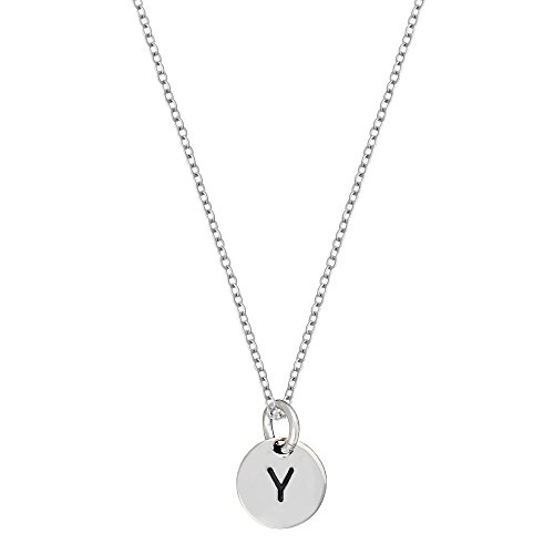 silverly-womens-925-sterling-silver-round-disc-initial-alphabet-charm-pendant-necklace-46-cm