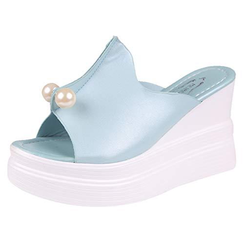 Pantofole Yesmile-Pantofole Donna estive Elegant Ciabatte Donna estive da casa Mare Sandali Estivi Donna Mare Bassi Elegant Estivi