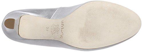 Unisa Numis_16_mts, Chaussures à talons - Avant du pieds couvert femme Argent - Silber (NIQUEL)
