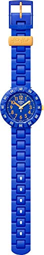 Flik Flak Jungen Analog Quarz Uhr mit Kautschuk Armband FCSP085