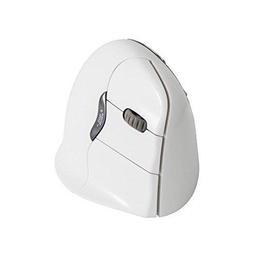 Evoluent Vertikale Ergonomische Maus (Evoluent Vertical Maus für Rechte Hand weiß)