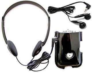 Sonic Technology Deluxe SuperEar Plus SE7500 Neu, verbesserter Super Ear Geräuschverstärker mit Tasche, Kopfhörer und In-Ohr-Kopfhörer