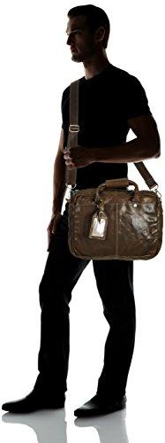 Cowboysbag Bag Washington 1065 Unisex-Erwachsene Henkeltaschen 39x29x10 cm (B x H x T) Grau (Grey 140)
