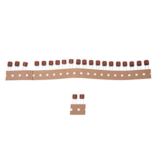 0.17 Miniatur (Miniatur sicherung - TOOGOO(R) 20 Stk Durchgangsloch T5A 5A 250V Radialen Anschluessen Miniatur sicherung)