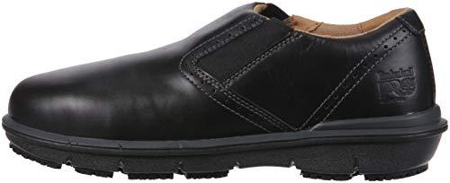 Timberland PRO Men s Boldon Slip on Alloy Toe SD  Industrial Shoe  Black Full Grain Leather  11 5 W US