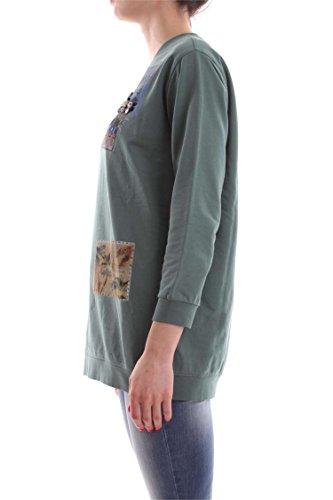 PINKO SARONNO SWEAT-SHIRT Femme Verde