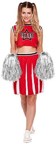 Ladies Head Cheerleader American Sports USA Hen Do Night Party TV Book Film Movies Festival Fancy Dress Costume Outfit