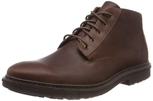 Timberland Herren Naples Trail Wp Chukka Boots, Braun (Dark Brown Full Grain P01), 46 EU - Boots Chukka Timberland Herren