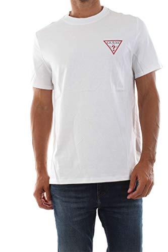 Guess M93I08 K8FQ0 T Shirt UND Tops Herren White L