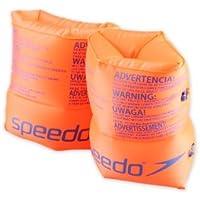 Speedo Roll Up Armbands JU Braccioli, Orange