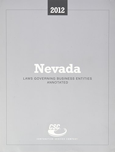 CSC Nevada Laws Governing Business Entities