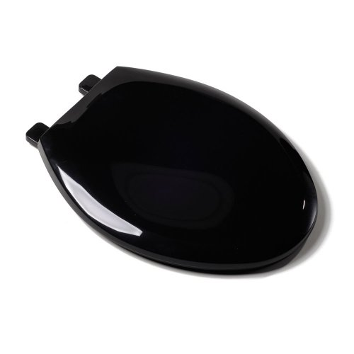 Comfort Sitze c2200s90EZ Close Deluxe Kunststoff WC-Sitz, länglich, schwarz von Komfort Sitze