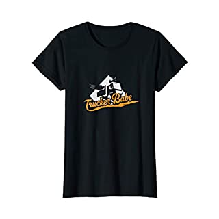 Damen Trucker Babe - Damen Kraftfahrerin Geschenk lustiges Shirt
