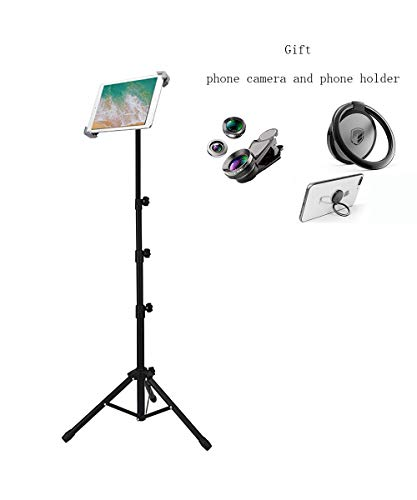 Ruren Ständer für iPad Mini, iPad Air, iPad 1, 2, 3, 4 und alle 17,8-25,4 cm Tablets, Tragetasche und Taschenlampe als Geschenk (3 8 1 4 Drehen Sie Das Ventil)