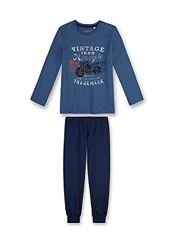 Sanetta Jungen Zweiteiliger Schlafanzug 243929 Blau (Jeans Blue 50238), 140
