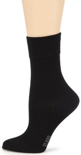 ELBEO Damen Sensitive Bamboo W Socken, Blickdicht, Schwarz (9500 schwarz), 35-38