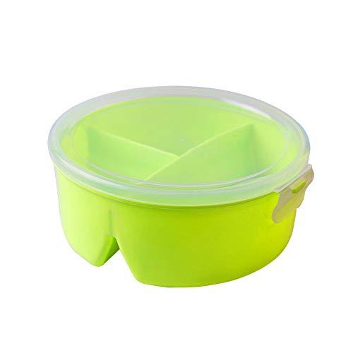 Green Traveler Outdoor Lunchbox mit F/ächern Brotdose f/ür Erwachsene /& Kinder geeignet f/ür Mikrowelle und Sp/ülmaschine Jausenbox BPA Frei aus ABS-Kunststoff auslaufsicher wasserdicht