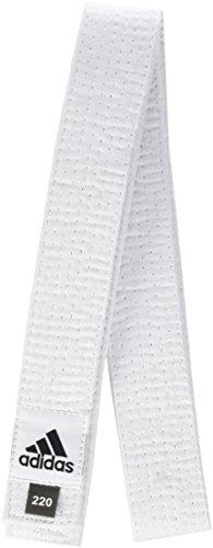 Adidas ADIB220D Ceinture pour kimono Modèle Club en piqué de coton 280 cm Blanc