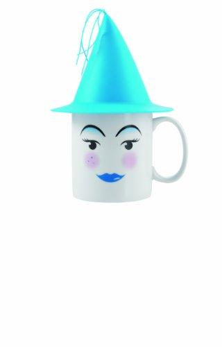 Emy 54560266 Blue Mug à Chapeau Bleu Clair Transparent 22 x 15 x 14 cm