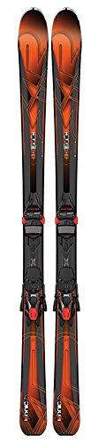 K2 Skis Herren Ikonic 80 mit Marker Bindung M3 12 Tcx Light Ski Set, Black/Orange, 177 cm (Core Ski Mountain All)