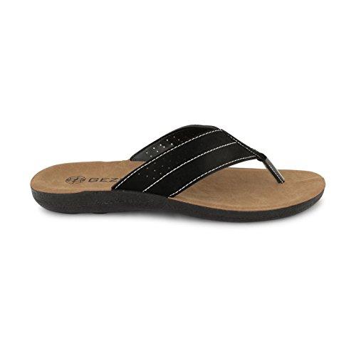 Footwear Sensation ,  Herren Sandalen Schwarz
