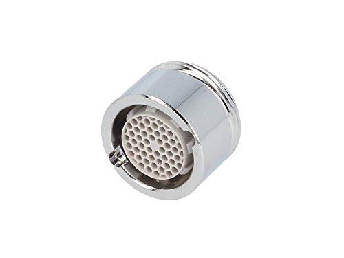 Preisvergleich Produktbild tecuro DESIGN Mischdüse-Strahlregler-Luftsprudler Ø 20 mm - M20 x 1 AG chrom