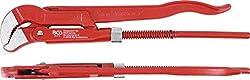 """BGS 525 Eckrohrzange, 1"""" 3-Punkt-Haftung, Rohrzange, CV-Stahl, Zangenöffnung max. 30mm"""