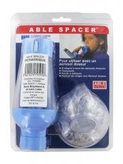 Able Spacer Chambre d'Inhalation + Masque - Taille: