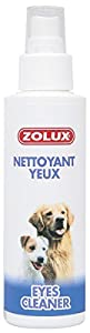 Zolux Nettoyant yeux pour chiens 100ml Sans paraben. Apaise, purife et antiseptiques convient à toutes les races de chiens