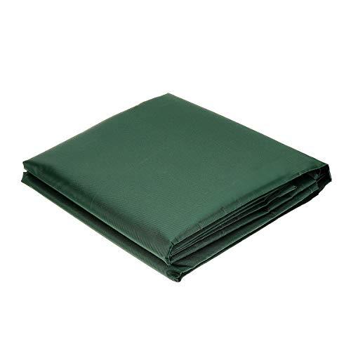 Reclinabile Verde 123x61x72cm Sedie Divano ESSORT Copertura della Mobilia da Giardino Impermeabile Telo Impermeabile Copertura Protettiva per Tavolo