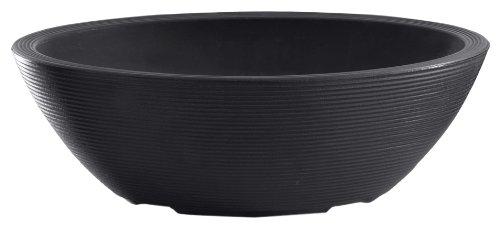 Crescent Garden A547694 Delano Bol ovale Noir caviar 76,2 x 53,35 cm