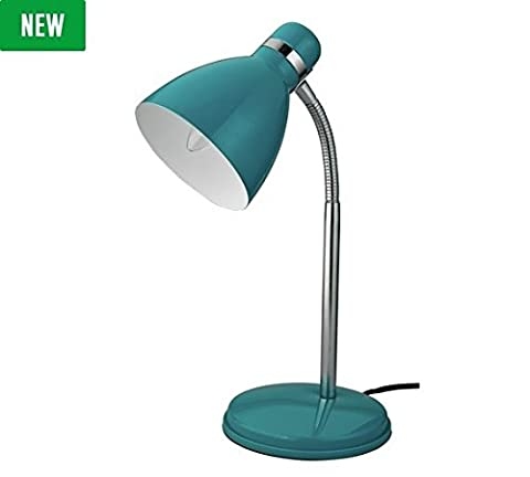 DELEX® In-line Switch Desk Lamp Teal Color