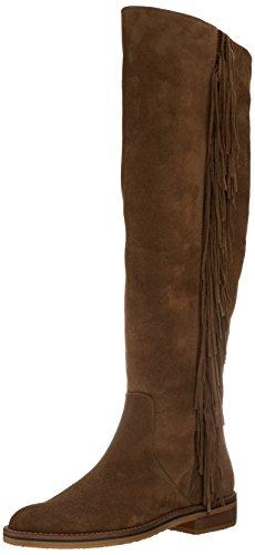 Calzados Marian 10312clay, Bottes plissées femme Marron