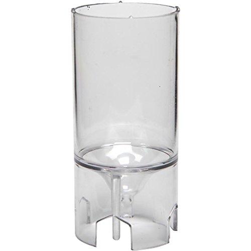 Moule pour bougie, dim. 65x44 mm, Cylindre, 1 pièce