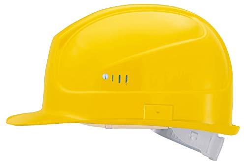 Uvex superboss trabajo casco de protección Casco, Casco de seguridad para la obra | la Industria Gem. DIN EN 397, Casco de construcción en Uni Size größe|–Casco de seguridad, casco de trabajo con textilbän derung, Amarillo, 9750120