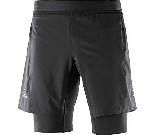 Salomon Fast Wing (Salomon Fast Wing TwinSkin Sackartige Shorts - AW18 - X Large)
