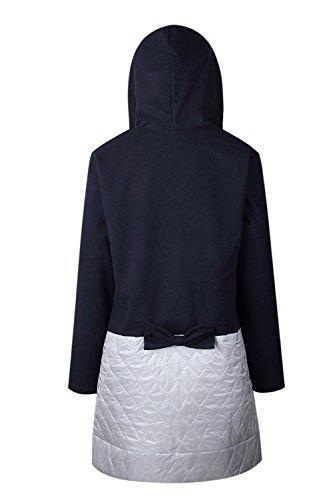 Léclair Intégrale Des Blousons À Capuchon Un Hiver Vêtements Manteaux Navy