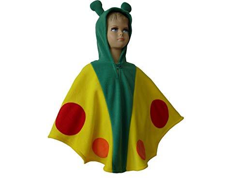 lloween kostüm cape für kleinkinder schmetterling gelb ()