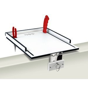 MAGMA ECONO MATE BAIT FILET TABLE 12 WHITE BLACK WHITE by Magma Products