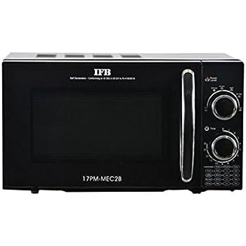 ifb 17 l solo microwave oven (17pm mec2b, black) amazon in homeifb 17 l solo microwave oven (17pm mec2b, black)