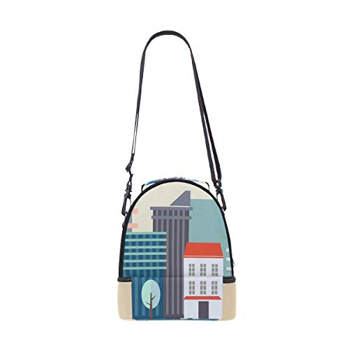 FANTAZIO Lunchtasche Downtown City