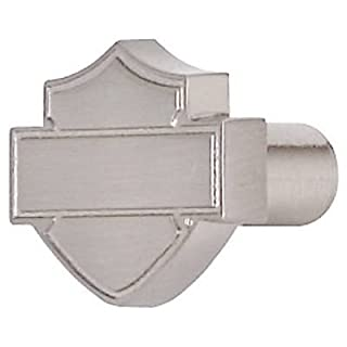Ace Product Management Group HDL-10113 Brushed Nickel Bar & Shield Silhouette Cabinet Knob - Quantity 25