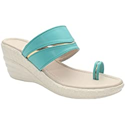 Suyash Comfortable and Stylish Synthetic Wedges For Women's & Girl's (ESS_SUYASH-646569)