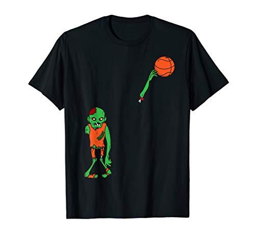 Kostüm Basketball Zombie - Zombie Basketball Kostüm Nettes Monster Halloween Geschenk T-Shirt