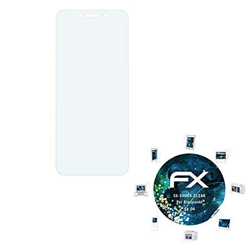 atFolix Schutzfolie kompatibel mit Blaupunkt SL 04 Panzerfolie, ultraklare & stoßdämpfende FX Folie (3X)